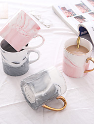 cheap -Drinkware Porcelain / China Coffee Mug / Tea & Beverage / Mug Boyfriend Gift / Girlfriend Gift 1pcs
