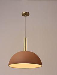 Недорогие -Подвесные лампы Потолочный светильник Электропокрытие Окрашенные отделки Металл Матовая 220 Вольт Лампочки не включены