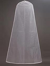 Недорогие -Один слой Modern Свадебные вуали Сумки для одежды с Однотонные 70,87 В (180см) Тюль / Прямая