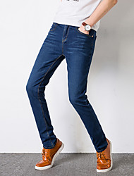 cheap -Men's Slim Chinos Pants - Solid Colored / Weekend