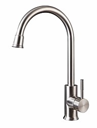 cheap -Kitchen faucet - fixed Stainless Steel Standard Spout Free Standing
