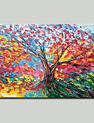 abordables -mintura® peint à la main abstrait couteau arbre paysage peinture à l'huile sur toile moderne photo d'art mural pour la décoration maison prêt à accrocher