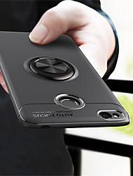 billiga -fodral Till Xiaomi Redmi Note 5 Pro / Redmi S2 Ringhållare Skal Enfärgad Mjukt TPU för Xiaomi Redmi Note 5 Pro / Xiaomi Redmi Note 4X / Xiaomi Redmi Note 4 / Xiaomi Redmi 4A