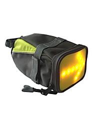 abordables -0.5 L Waterproof / Bolsa para Guardabarro Impermeable, Reflexivo, Ciclismo Bolsa para Bicicleta Nailon Bolsa para Bicicleta Bolsa de Ciclismo Todo Teléfono móvil Bicicleta