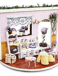 Недорогие -Кукольный домик Творчество / Вращающийся Музыка / Романтика 1 pcs Куски Детские Подарок