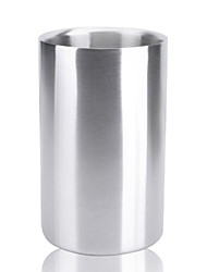 cheap -Ice Bucket & Wine Cooler Stainless steel, Wine Accessories High Quality Creative for Barware Simple 1pc