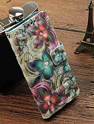abordables -Funda Para Xiaomi Redmi Note 5A / Mi 5X Cartera / Soporte de Coche / con Soporte Funda de Cuerpo Entero Flor Dura Cuero de PU para Redmi Note 5A / Xiaomi Redmi Note 4X / Redmi 5A