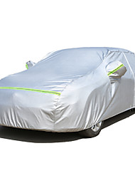 cheap -Full Coverage Car Covers Leather / Aluminum Film Reflective / Warning bar For Honda Civic All years For All Seasons