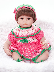 cheap -FeelWind Reborn Doll Baby Girl 18 inch lifelike, Natural Skin Tone Kid's Girls' Gift