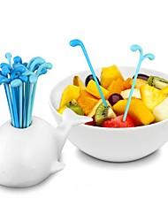 cheap -Plastic Casual Dinner Fork / Fork, High Quality 16pcs