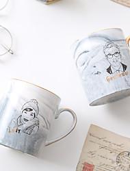 Недорогие -Drinkware Фарфор / Китай Чай и напитки Boyfriend Подарок / Подруга Gift 2pcs
