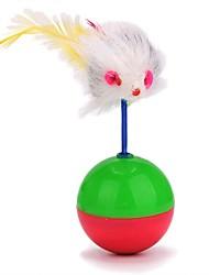 baratos -Interativo / Brinquedos Felpudos / Rato de Brinquedo Amigo de Animal de Estimação / Brinquedo foco / Brinquedos de descompressão Felpudo Para Cachorros / Coelhos / Gatos