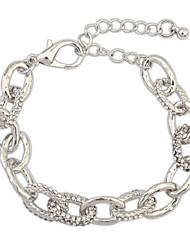 economico -Per donna Bracciali a catena e maglie - Di tendenza Bracciali Argento Per Cerimonia / Per uscire