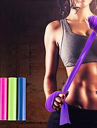 baratos -Faixas para Exercícios de Resistência Com 1 pcs Emulsão Estendido, Elástico, Grossa Treinamento de Resistência, Fisioterapia Para Ioga / Pilates / Fitness Casa / Escritório
