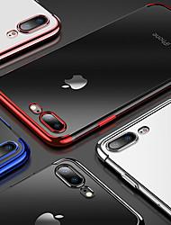 Недорогие -Кейс для Назначение Apple iPhone XS / iPhone XR / iPhone XS Max Покрытие / Прозрачный Кейс на заднюю панель Однотонный Мягкий ТПУ