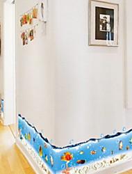 Недорогие -Декоративные наклейки на стены - Простые наклейки Животные / Море Ванная комната / Детская
