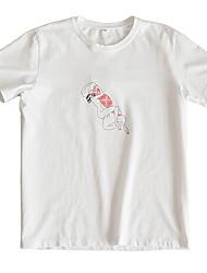 お買い得  -メンズTシャツ - トライバルラウンドネック