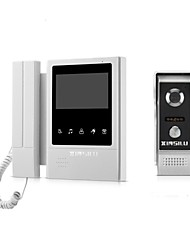 abordables -xinsilu xsl-v43e168 interphone filaire 4,3 pouces / mains libres 480 * 272 pixels interphone vidéo