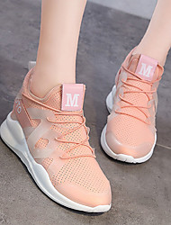 abordables -Mujer Zapatillas de deporte / Zapatos Casuales Goma Ejercicio y Fitness / Running Utra ligero (UL), Transpirable Cuero sintético Blanco /