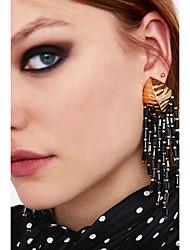 abordables -Femme Boucles d'oreille goutte - Gland, Européen, Mode Rose / Brun claire / Bleu royal Pour Fête / Soirée / Travail