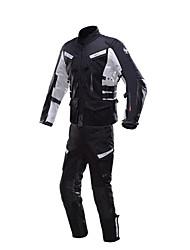 baratos -DUHAN D-201SET Roupa da motocicleta Conjunto de calças de jaquetaforHomens Primavera & Outono Anti-Vento / Á Prova-de-Água / Confortável