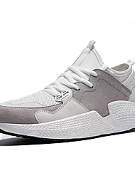 cheap -Men's PU(Polyurethane) Summer Comfort Athletic Shoes White / Black / Gray