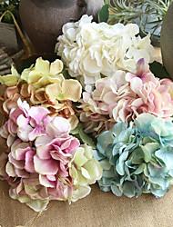 Недорогие -Искусственные Цветы 2 Филиал Классический Стиль / Modern Гортензии Букеты на стол