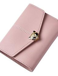 cheap -Women's Bags PU(Polyurethane) Wallet Buttons Character Drak Red / Gray / Sky Blue