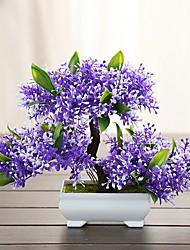 abordables -Flores Artificiales 1 Rama Clásico Rústico / Tradicional Plantas Flor de Mesa