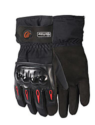 cheap -RidingTribe Full Finger Unisex Motorcycle Gloves Flannel / Poly urethane Waterproof / Keep Warm / Breathable