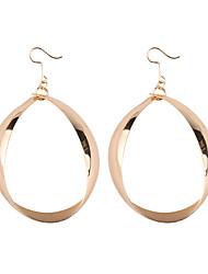 cheap -Women's Hollow Drop Earrings / Hoop Earrings - Drop European, Trendy, Fashion Gold / Silver For Daily / School