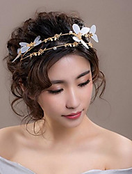 cheap -Alloy Headpiece / Hair Accessory with Hollow-out 1 Piece Wedding / Party / Evening Headpiece