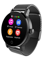 cheap -Smartwatch SMA09A for Android iOS Bluetooth Heart Rate Monitor Touch Screen Long Standby Hands-Free Calls Distance Tracking Pedometer Call Reminder Activity Tracker Sleep Tracker / Alarm Clock