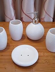 cheap -Bathroom Accessory Set Cute Modern Ceramic 5pcs - Bathroom Single