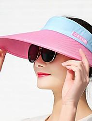 Недорогие -Жен. Активный Шляпа от солнца Контрастных цветов
