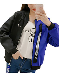 cheap -women's going out jacket - letter