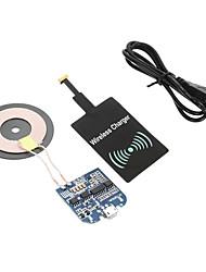 billiga Telefoner och Tabletter Laddare-Trådlös laddare USB-laddare USA-kontakt / EU-kontakt / UK-kontakt 1 USB-port 1 A DC 5V för / AU-kontakt