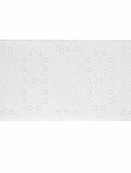 abordables -1pc Moderne Tapis Anti-Dérapants PVC Géométrique Rectangle Antidérapant