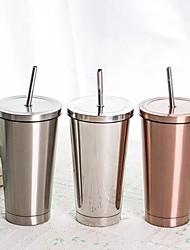Недорогие -Drinkware Нержавеющая сталь Кофейные чашки сохраняющий тепло / Boyfriend Подарок / Подруга Gift 1 pcs