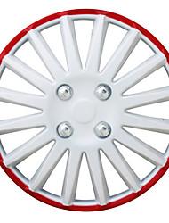 Недорогие -1 шт. Крышка ступицы 14 inch Деловые пластик / Металл Колпаки на колеса Назначение Дженерал Моторс Все года