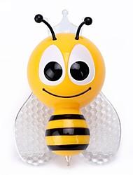 Недорогие -1pc водить красочный ночной свет украшения rgb маленькая пчела& лампа для бабочек для домашнего декора