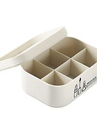 Недорогие -пластик Прямоугольная Новый дизайн Главная организация, 1шт Единицы хранения / Организация инструментов