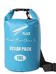 Недорогие -TUO 10 L Водонепроницаемый сухой мешок Дожденепроницаемый, Пригодно для носки для Плавание / Мячи для тенниса / На открытом воздухе