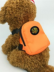 Недорогие -Собаки / Коты / Маленькие зверьки Переезд и перевозные рюкзаки Животные Корпусы Мини / Милые Однотонный / Животное Оранжевый / Красный / Зеленый