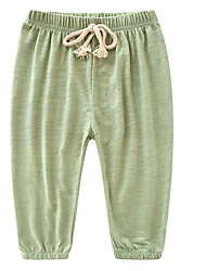 cheap -Kids Girls' Solid Colored Pants