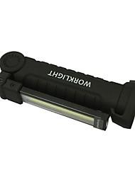 cheap -ismartdigi iW52 LED Flashlights / Torch Portable / Anti-skidding Camping / Hiking / Caving / Everyday Use / Hunting Black