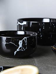 abordables -1 pièce Porcelaine / Céramique Design nouveau / Résistant à la chaleur / Créatif Saladier / Bols / Bols & Bouteilles d'eau, Vaisselle