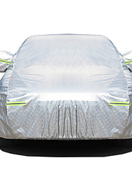 abordables -Couvrant Couvertures de voiture Tissu Oxford / Coton Réfléchissant / Antivol / Barre d'avertissement For Ford Focus Toutes les Années For Toutes les Saisons
