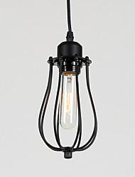 Недорогие -Мини Подвесные лампы Рассеянное освещение Окрашенные отделки Металл Регулируется 110-120Вольт / 220-240Вольт Лампочки не включены / E26 / E27