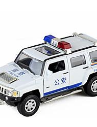 お買い得  -自動車おもちゃ パトカー 車載 新デザイン 金属合金 フリーサイズ 子供 / ティーンエイジャー ギフト 1 pcs